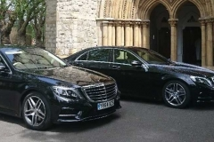 Mercedes wedding cars
