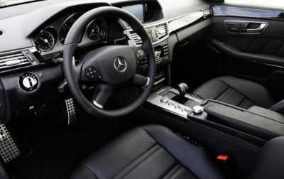 Inchiriere masina cu sofer - Interior Mercedes E Class