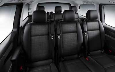 Inchiriere masina cu sofer - Interior Mercedes Vito